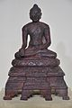 Buddha - Bronze - Pala Period Circa 9th-10th Century AD - Nalanda - Archaeological Museum - Nalanda - Bihar - Indian Buddhist Art - Exhibition - Indian Museum - Kolkata 2012-12-21 2314.JPG
