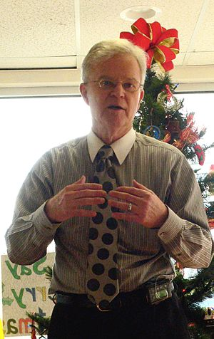 Buddy Roemer - Roemer speaking at a Reform Party campaign in New Jersey, December 2011