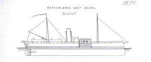 Buffel-class monitor - Image: Buffel (1868)