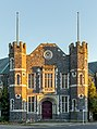 Building at the corner of Peterborough and Montreal St, Christchurch, New Zealand.jpg
