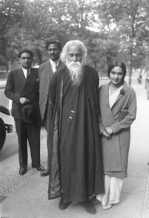 Culture of West Bengal - Rabindranath Tagore, India's most famous poet, was born in Calcutta