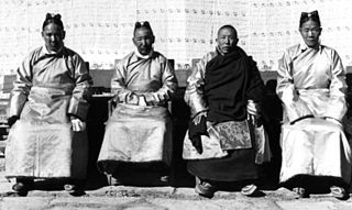 Kashag Tibetan council created by Qing dynasty in Tibet in 1721 to replace civil council