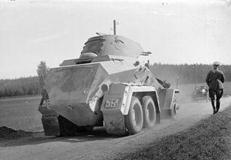 Schwerer Panzerspähwagen - 6 Rad Sd.Kfz. 231 in Bavaria in 1935
