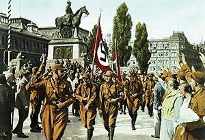 Horst Wessel - Image: Bundesarchiv Bild 147 0503, Nürnberg, Horst Wessel mit SA Sturm