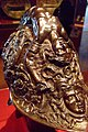 Burgonet Embossed steel damascened with gold by Filippo Negroli Italian Milan 1543 (663908227).jpg
