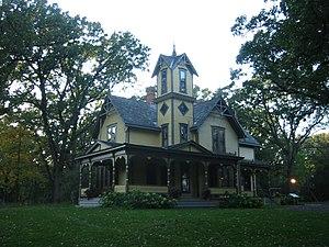 Charles H. Burwell House in Minnetonka, Minnesota.