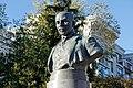 Bust of Mykhailo Kotsiubynsky in Kharkiv 10.2018 (03).jpg