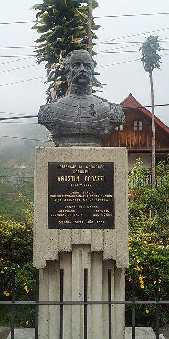 Agostino Codazzi - Agostino Codazzi monument (Colonia Tovar)