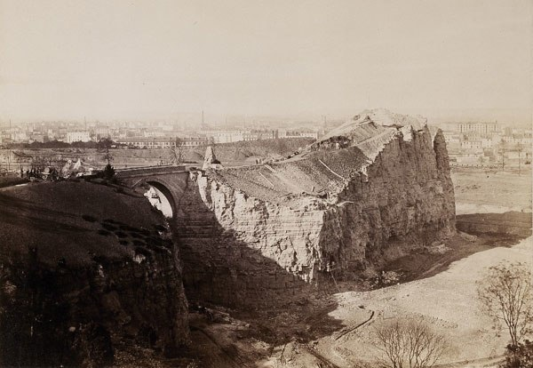 Buttes Chaumont Charles Marville