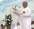 C.P. Joshi addressing at the launch of the first Inter-operable, Electronic Toll Collection System based on Radio Frequency Identification (RFID) Technology at Toll Plazas of Mumbai – Vadodara Section, at village Tawa.jpg