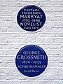 CAPTAIN FREDERICK MARRYAT and GEORGE GROSSMITH - 3 Spanish Place Marylebone London W1U 3HX.jpg