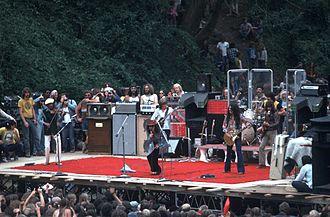 Jefferson Starship - Jefferson Starship free concert in Golden Gate Park, San Francisco – May 30, 1975