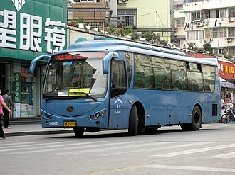 Changzhou Changjiang Bus - Image: CJ6101G7C13HK