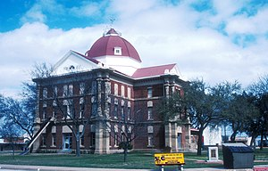 National Register of Historic Places listings in Clay County, Texas - Image: CLAY COUNTY COURTHOUSE AND JAIL