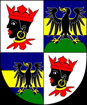 Karl-August von Reisach - Image: COA cardinal DE Reisach Karl August