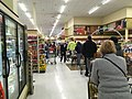 COVID-19 panic buying line at Weis Markets in Huntingdon Valley PA.jpeg