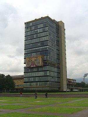 Enrique del Moral - Image: CU Mexico rectoria 2