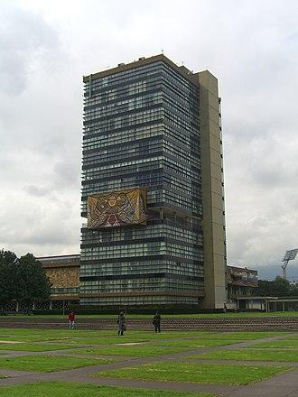 Mario Pani - Image: CU Mexico rectoria 2