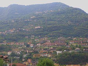 Panorama di Costa Volpino