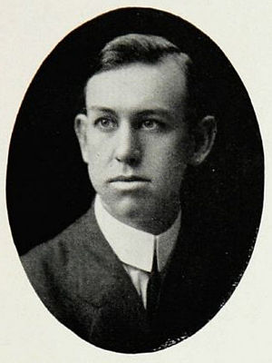 Charles Mosley (coach) - Mosley pictured in The Round-Up 1915, Baylor yearbook