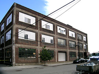 New Amsterdam Historic District - Cadillac Plant, now home to Wescott Paper.
