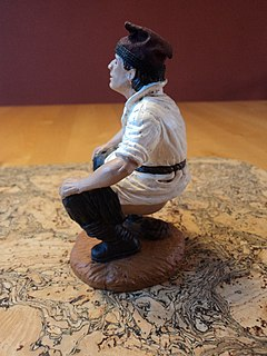 Caganer figure featured in Catalan xmas scenes