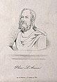 Caius Plinius Secundus. Line engraving. Wellcome V0004720.jpg