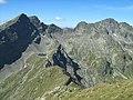 Caltun (stanga) si Negoiu (dreapta) vazuti de pe Vf. Laitel - panoramio.jpg