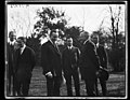 Calvin Coolidge and group outside White House, Washington, D.C. LCCN2016892831.jpg