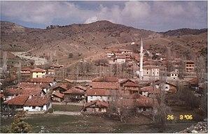 Villages of Turkey - Image: Cami cevresi