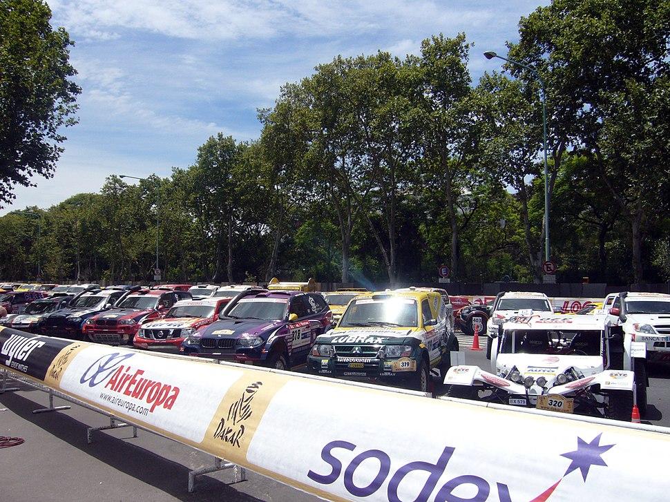 Camionetas Dakar 2009