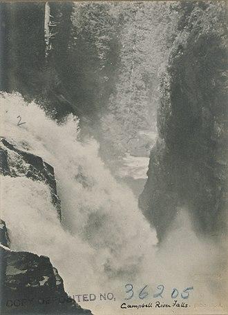 Campbell River (Vancouver Island) - Campbell River Falls, 1919