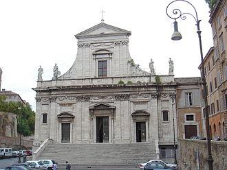 Santa Maria della Consolazione - Image: Campitelli santa maria della Consolazione 00765