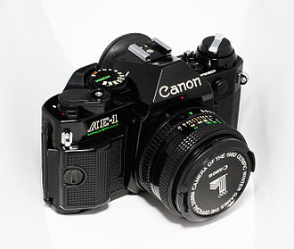 Canon AE-1 Program - Canon AE-1 Program with all-black finish
