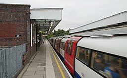 Canons Park tube station MMB 03 1996 Stock