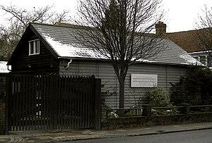 Canterbury Archaeological Trust - CAT headquarters building in Canterbury