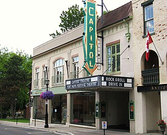 Capitol Theatre (Port Hope) - The Capitol Theatre was named a National Historic Site in 2016