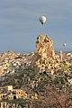 Cappadocia balloon trip, Ortahisar Castle (11894964936).jpg