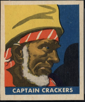 John Leadstone - Captain Crackers from the 1948 Leaf Pirate Trading Cards set