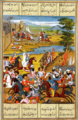 Capture of Tiflis by Agha Muhammad Shah. A Qajar-era miniature. 03.png