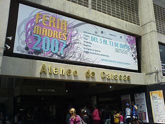 Caracas Athenaeum - Image: Caracas Athenaeum Building