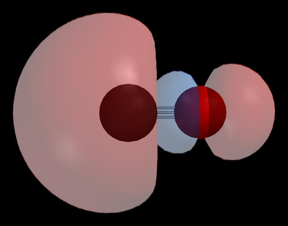 Carbon-monoxide-HOMO-phase-3D-balls