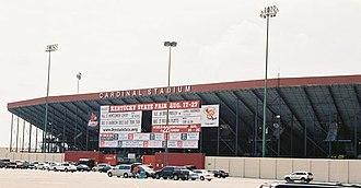 Cardinal Stadium - Image: Cardinal Stadium Signage