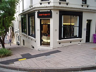 Carhartt - Carhartt store in Sydney, Australia.