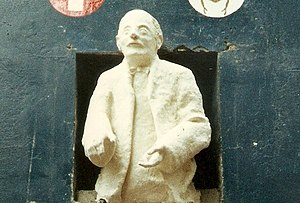 English: Original Statue of Carl Jung in Mathe...
