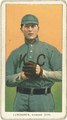 Carl Lundgren, Kansas City Team, baseball card portrait LCCN2008676949.tif