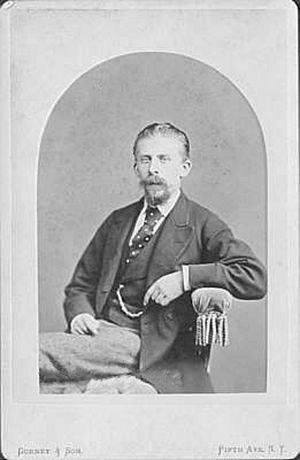 Carl Rosa - Carl Rosa in a Jeremiah Gurney photograph
