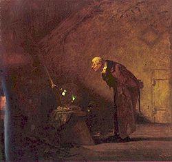 L'Alchimista di Carl Spitzweg