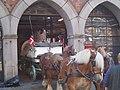 Carlsberg horse-drawn brewery wagon fr.jpg
