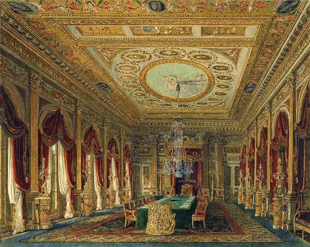 Карлтон - Хаус, Тронный зал, Чарльз Уайлд, 1818- royal coll 922178 257094 ORI 0 0.jpg